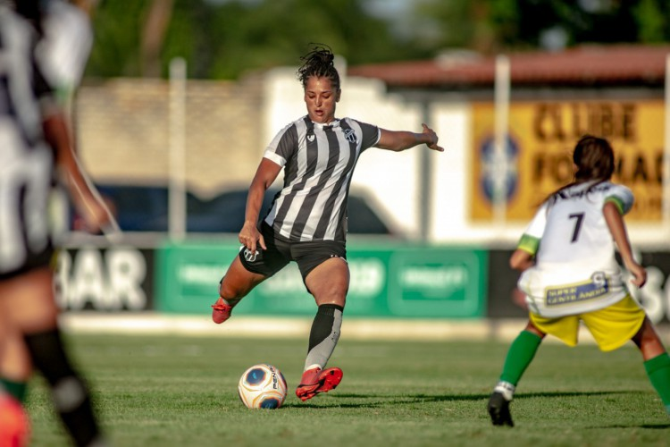 Ceará goleou Menina Olímpica por 9 a 0 no Franzé Morais.  (Foto: Stephan Eilert/Ceará SC)