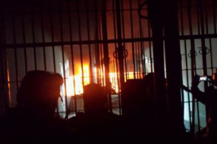 Rebelião na Penitenciária Industrial Regional de Sobral (Pirs), em 17 de junho de 2016