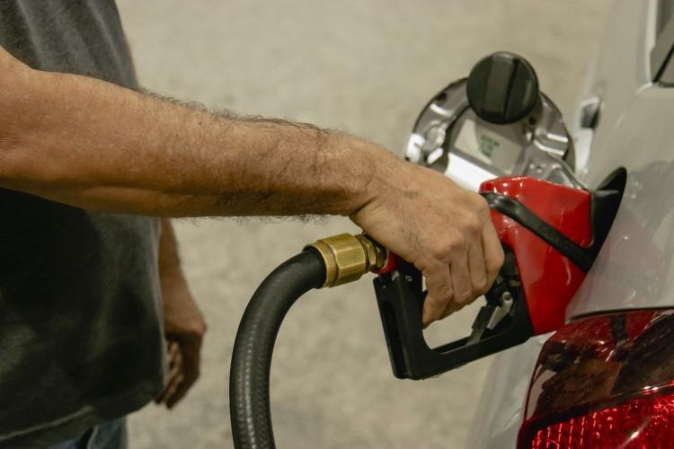 Posto de gasolina do Ceará registram novo aumento no preço da gasolina e valor do litro ultrapassa R$ 5 (Foto: Aurelio Alves)