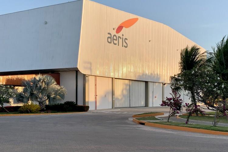 Com lucro líquido de R$ 24 milhões nos três primeiros meses de 2021, Aeris Energy, empresa produtora de pás eólicas estuda abrir mais uma fábrica no Ceará (Foto: Divulgação)