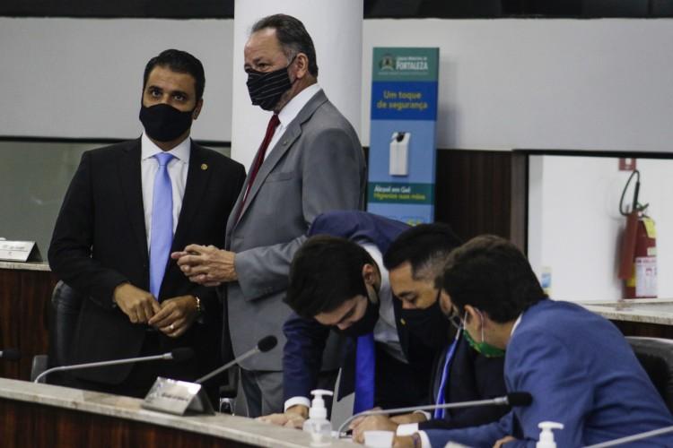 Reforma da Previdência tramita na Câmara Municipal de Fortaleza (Foto: Thais Mesquita)