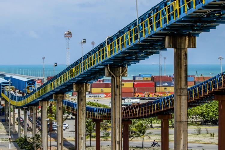 Porto do Pecém (Foto: FCO FONTENELE)