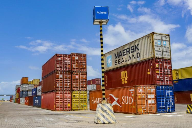 Infraestrutura do Pecém é destacada por executivo da APM Terminals, empresa do Grupo Maersk que opera no terminal cearense (Foto: FCO FONTENELE)