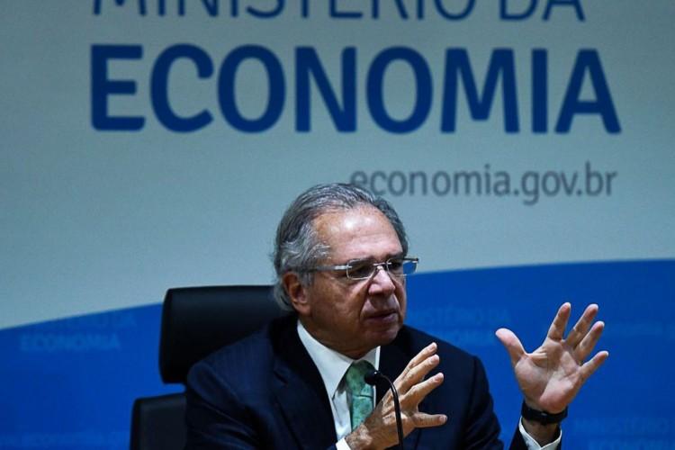 Ministro da Economia, Paulo Guedes, já rejeitou pontos propostos para a reforma tributária (Foto: EDU ANDRADE/Ascom/ME)