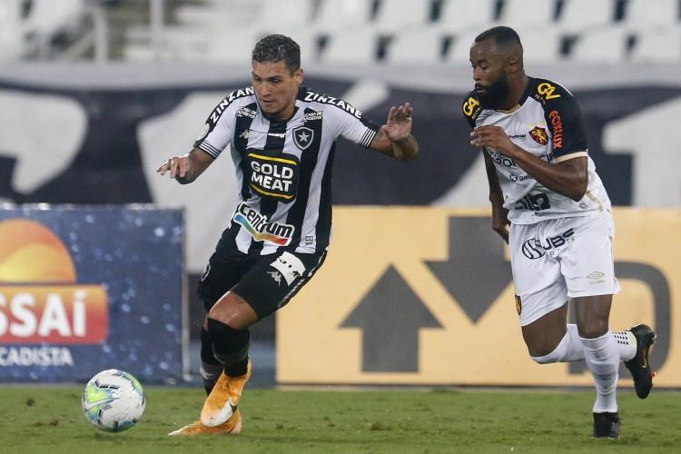 Botafogo perdeu em casa para o Sport e está matematicamente rebaixado (Foto: Vítor Silva/ BFR)