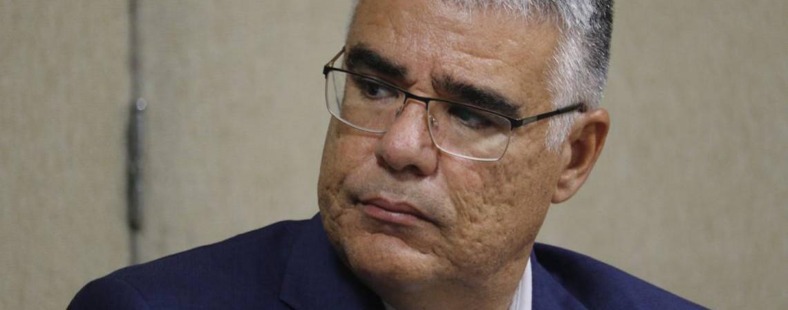 O senador Eduardo Girão (Foto: Mauri Melo/O POVO)