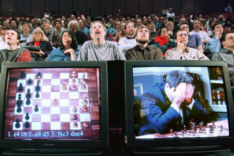 Hoje é dia: há 25 anos, computador vencia Kasparov no xadrez (Foto: )
