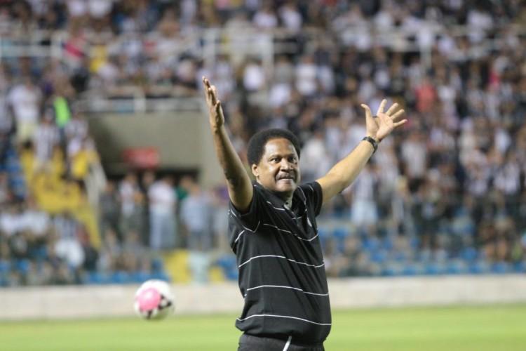 LULA foi o 4º treinador com mais partidas pelo Ceará (Foto: Fabio Lima)