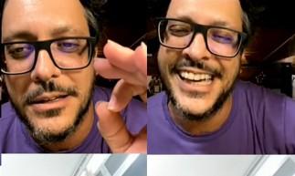 Lucas Penteado contou estar feliz, e acolhido por sua família   (Foto: Reprodução/Instagram)