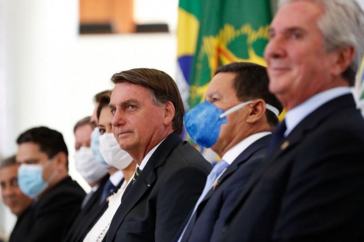 (Brasília - DF, 08/02/2021) Cerimônia de Lançamento da Plataforma Participa + Brasil..Foto: Alan Santos/PR (Foto: Alan Santos/PR)