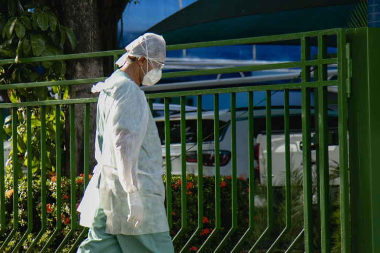 Levantamento da FGV aponta que 80,2% dos trabalhadores da saúde do Sistema Único de Saúde (SUS) disseram ter a saúde mental abalada (Foto: Aurelio Alves)