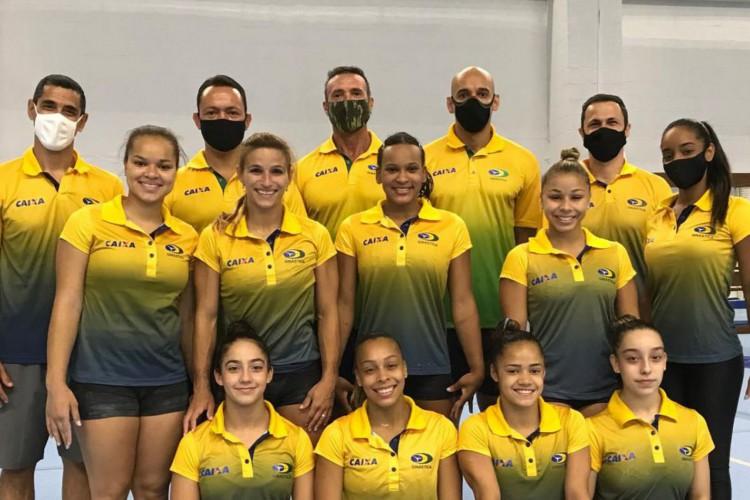 Ginástica Artística Feminina: seleção treina no Rio até quarta (Foto: )