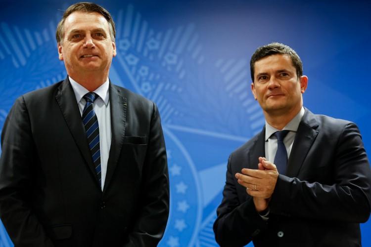 Pesquisa XP/Ipespe indica vitória de Bolsonaro contra todos os adversários em 2022, com exceção de Moro (Foto: Carolina Antunes/PR)