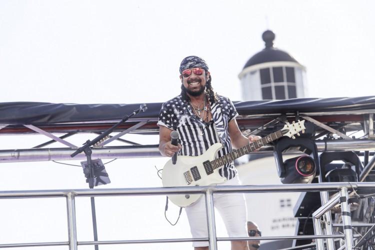Bell Marques apresenta live de Carnaval neste domingo, 14 de fevereiro (Foto: Fabio Cunha)