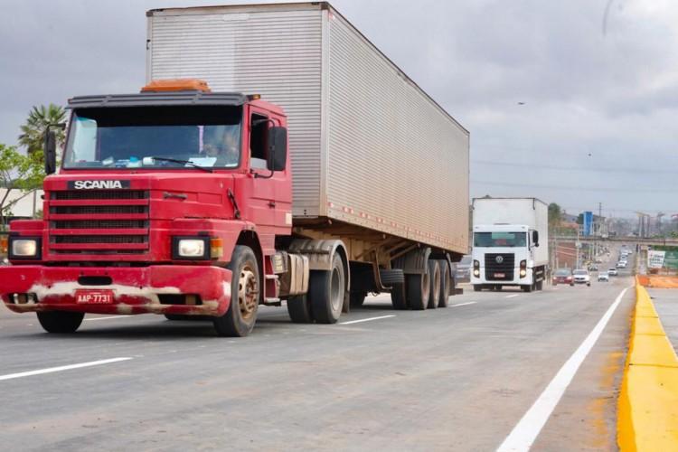 Os trabalhos continuam nas estruturas de ligação entre Anel Viário e CE-065, assim como em outros pontos da rodovia federal (Foto: Divulgação/Casal Civil)