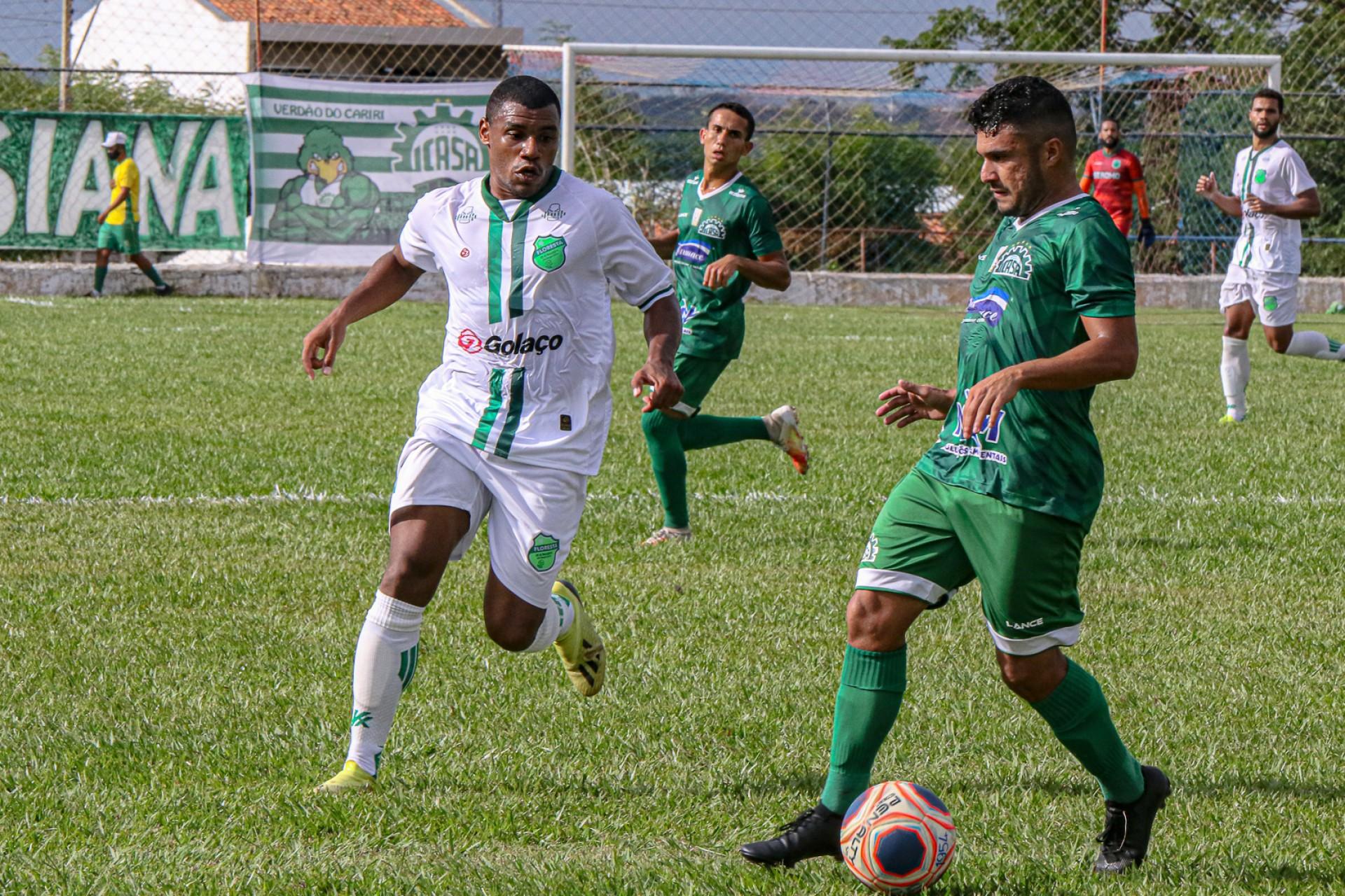 Icasa e Floresta disputaram a semifinal da Taça Fares Lopes 2020