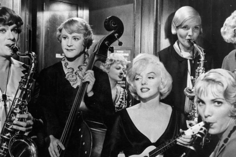 Protagonizado por Marilyn Monroe, 'Quanto Mais Quente Melhor' é um dos filmes disponíveis no Festival 125 anos de Cinema