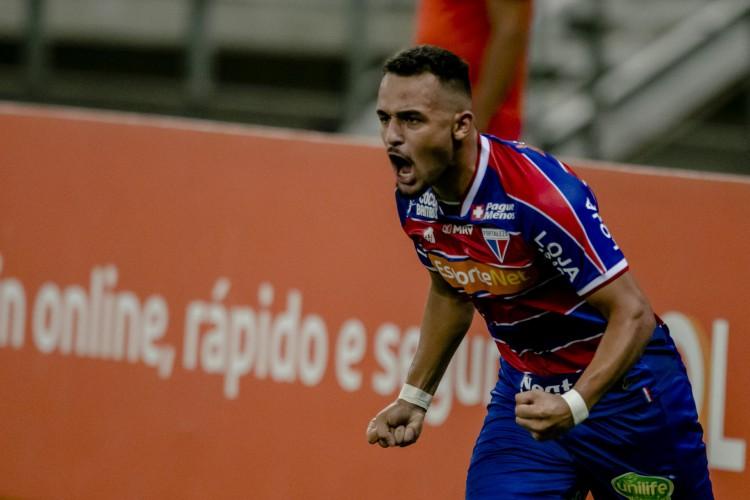 O jovem atacante Igor Torres fica no Fortaleza para a temporada 2020 (Foto: Aurelio Alves)