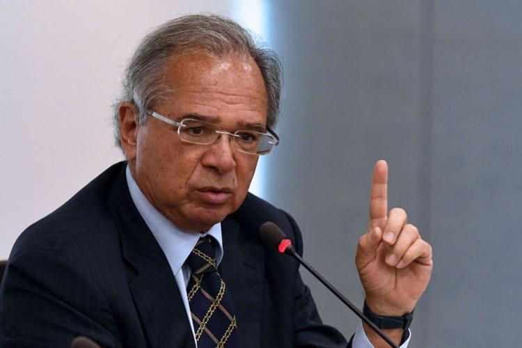"""Ministro da Economia de Bolsonaro, Paulo Guedes, critica política economia brasileira e afirma de país se """"tornará uma Venezuela"""" em um ano e meio se nada for feito (Foto: EDU ANDRADE/Ascom/ME)"""
