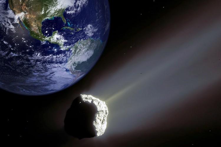 Asteroide 2001 FO32 não corre riscos de colidir com a Terra, apesar de ser o maior objeto do tipo a se aproximar do planeta este ano; para observá-lo, é necessário telescópio (Foto: Bonekimages / Alamy Stock Photo)