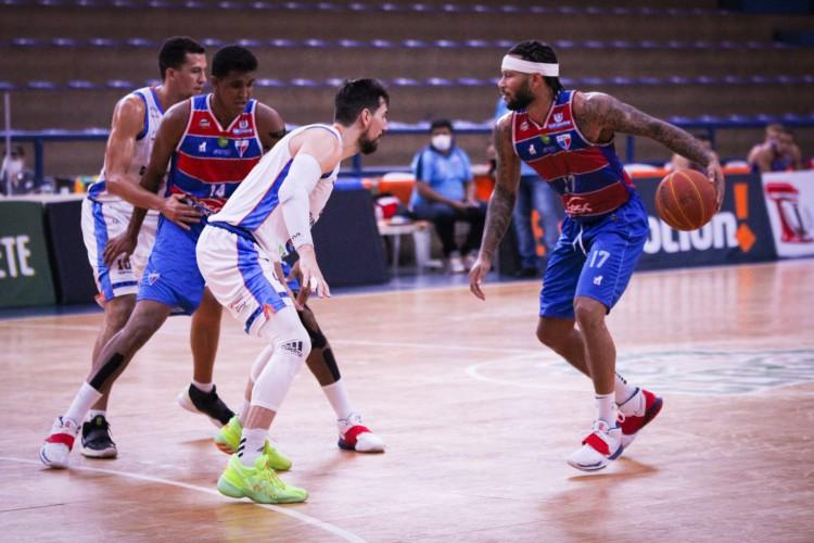 Fortaleza BC e Unifacisa disputam segundo turno da NBB.  (Foto: Luísa Xavier/ Fortaleza BC)