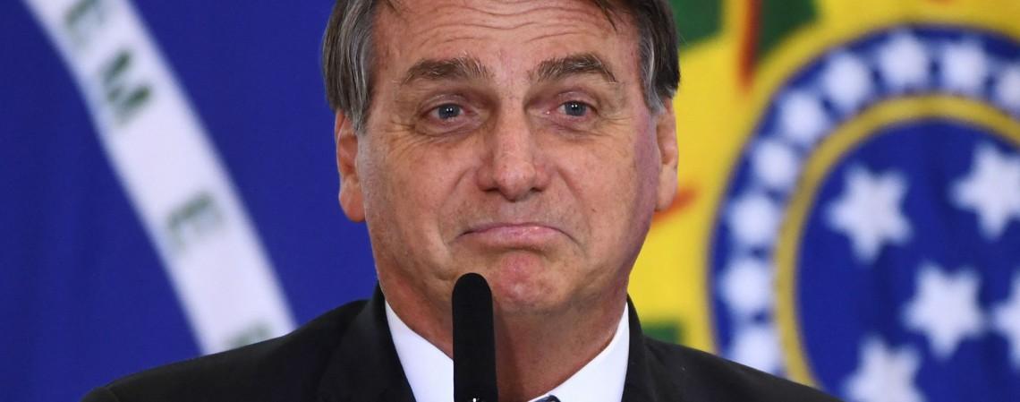O presidente Jair Bolsonaro (Foto: EVARISTO SA / AFP)