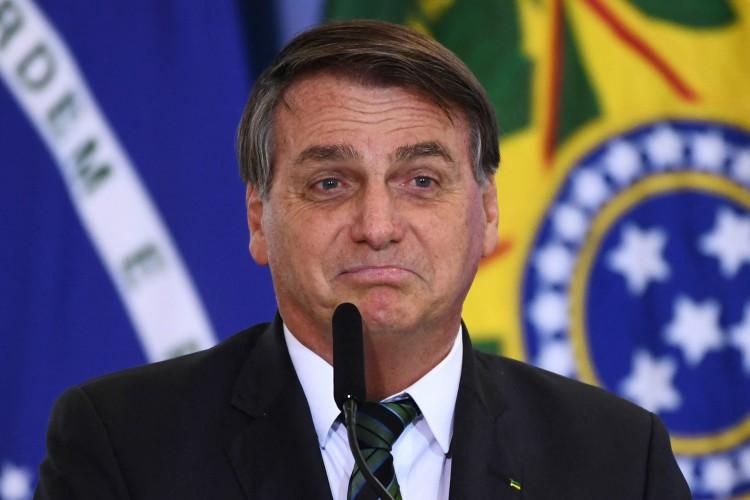 O presidente Jair Bolsonaro vem mudando discurso sobre privatizações.  (Foto: EVARISTO SA / AFP)