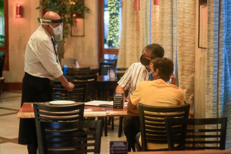 Setor de bares e restaurantes espera que retomada aconteça nos mesmos moldes de 2020. (Foto: BARBARA MOIRA)