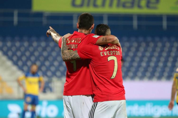 Benfica joga o confronto de volta contra o Arsenal pela fase 16 avos da Liga Europa (Foto: Divulgação Benfica)