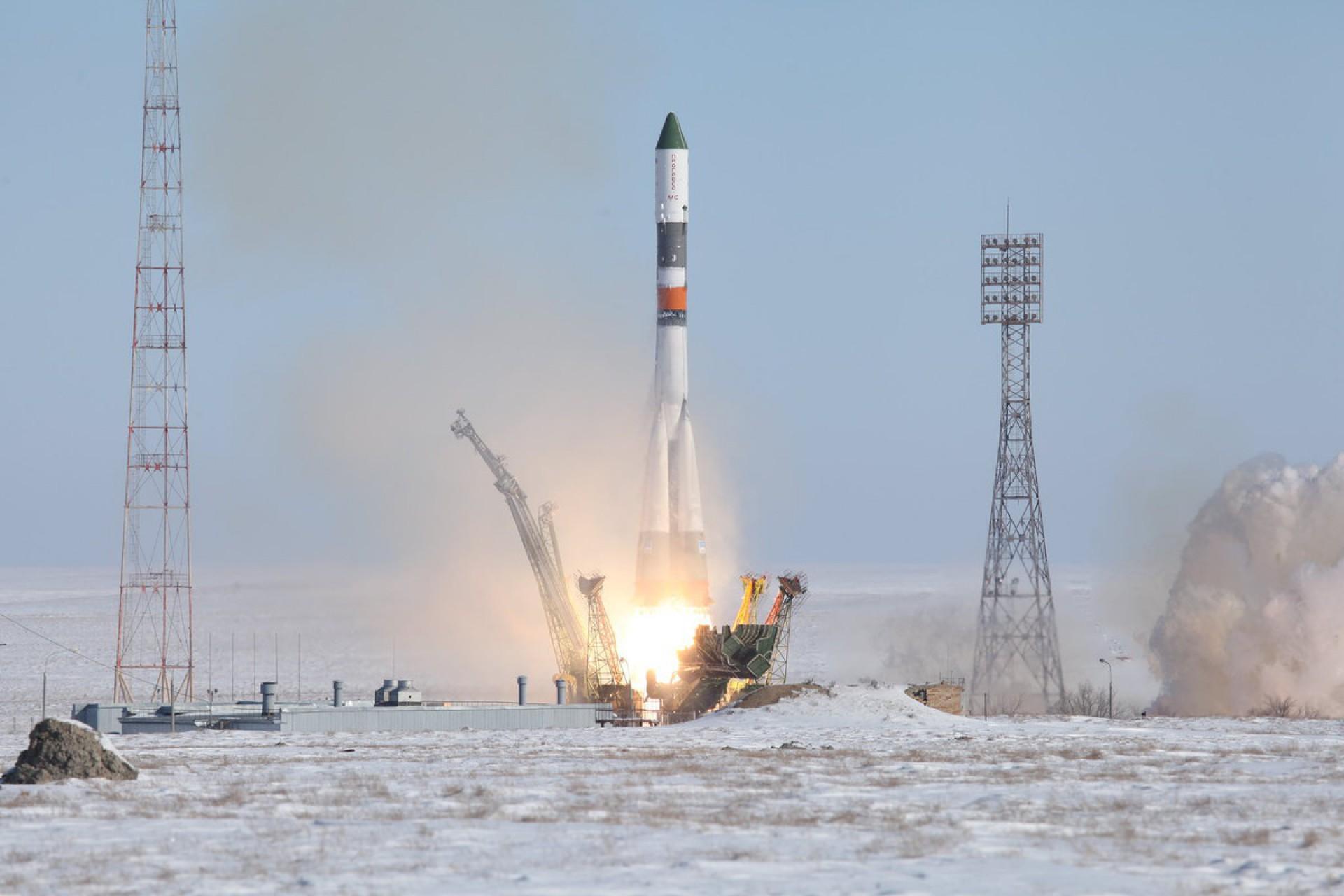 Cosmódromo de Baikonur, inaugurado na década de 50, ainda hoje é utilizado para lançamento de foguetes