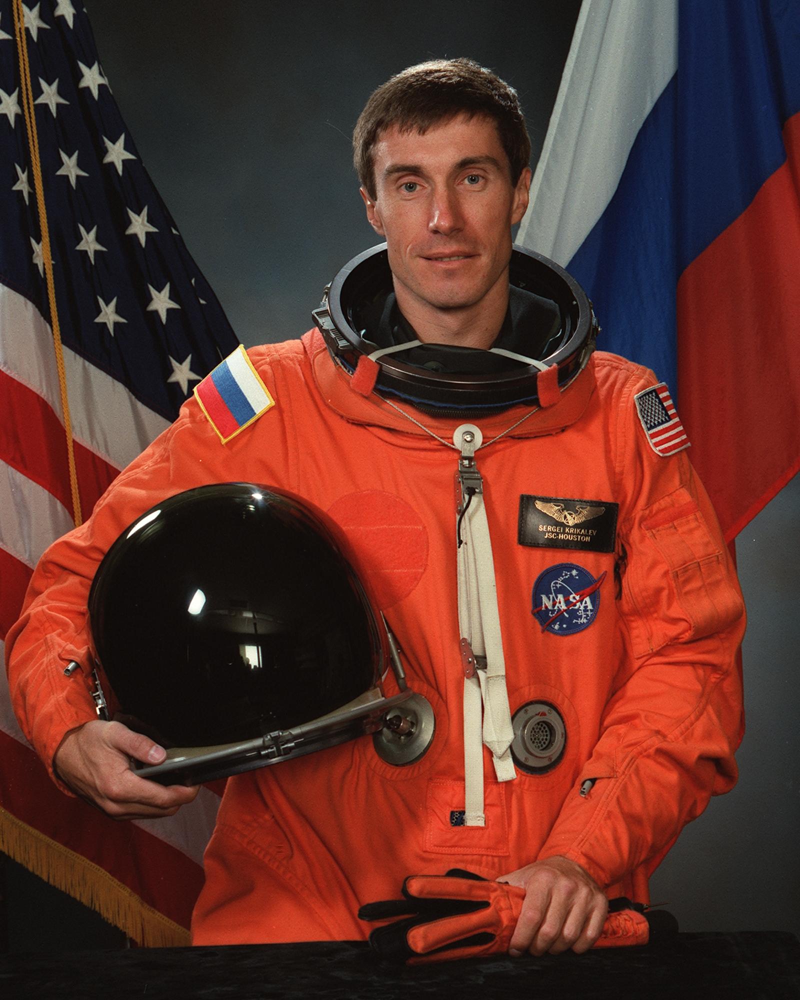 O homem deixado no espaço