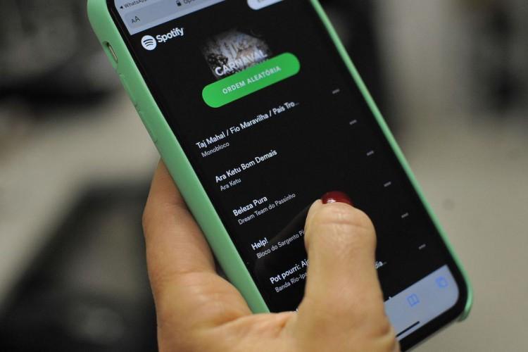 Spotify anunciou um aumento de 21% de assinantes, que já são 158 milhões (Foto: Marcello Casal Jr/Agência Brasil)