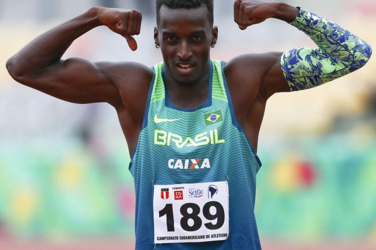 Atletismo: Gabriel Constantino é prata na França (Foto: WAGNER CARMO)