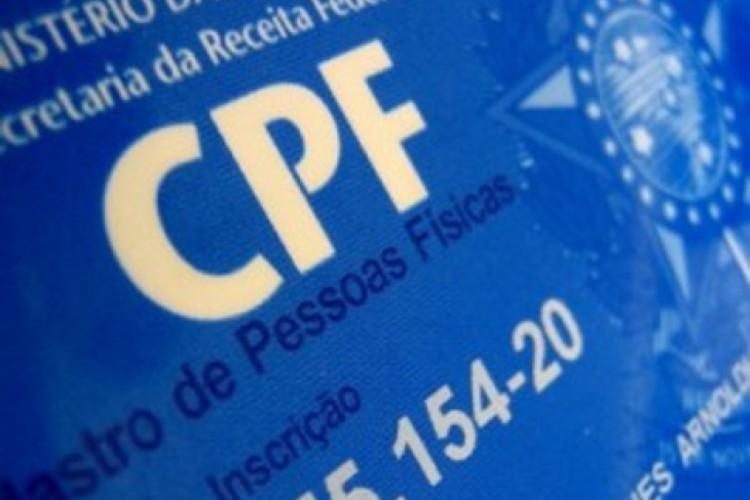 CPF é um dos documentos mais visados por fraudadores (Foto: REPRODUÇÃO)