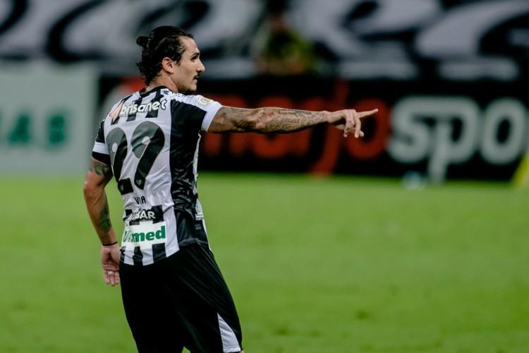Vina deu nove passes para gols do Ceará na Série A (Foto: Aurélio Alves/O POVO)