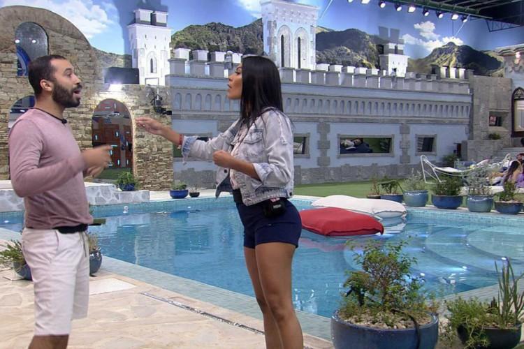Jogo da Discórdia no BBB costuma terminar em discussão (Foto: Reprodução /Rede Globo)