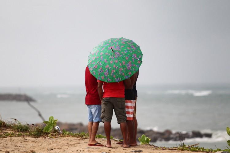 Na Vila do Mar, em Fortaleza,  (Foto: FABIO LIMA)