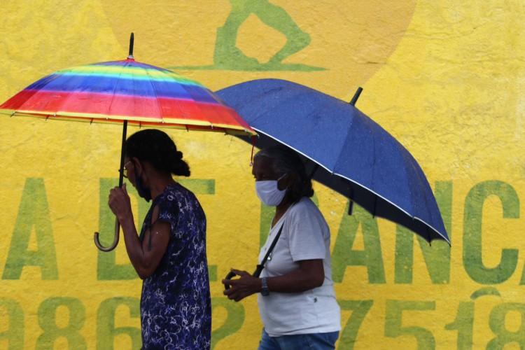 A chuvas devem reduzir nos próximos dias  (Foto: FABIO LIMA)