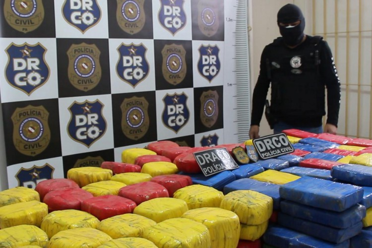 Operação no Pará resulta em apreensões de drogas  (Foto: divulgação/ Polícia Civil do Pará )