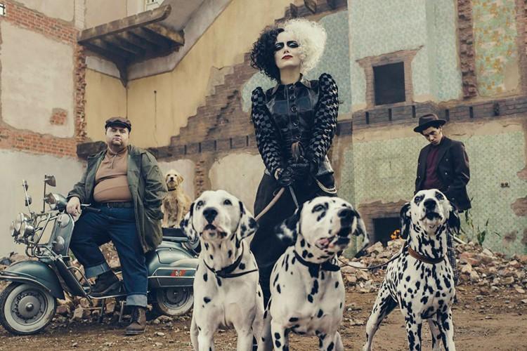 Emma Stone interpreta Cruella em live-action (Foto: Walt Disney Pictures)