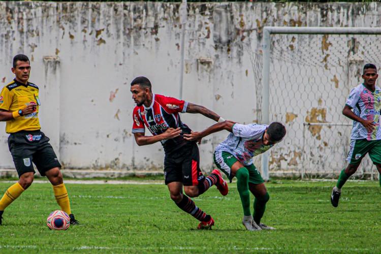 Pacajus foi única equipe mandante a vencer a terceira rodada do Cearense.  (Foto: Lenilson Santos/ Ferroviário AC)