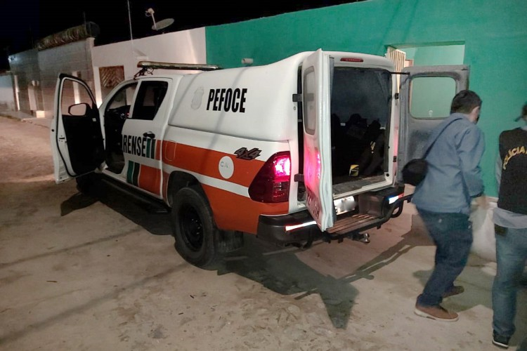 Participaram da reconstituição a Controladoria Geral de Disciplina dos Órgãos de Segurança Pública e Sistema Penitenciário (CGD) e a Perícia Forense do Estado do Ceará (Pefoce). (Foto: Reprodução)