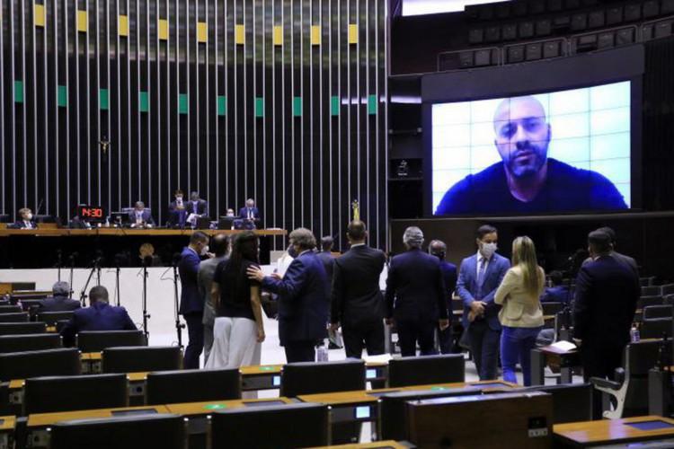 Câmara mantém prisão de Daniel Silveira (Foto: )