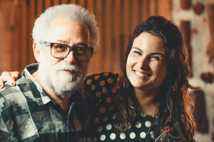 As gravações com Capinan para o documentário 'O Silêncio que Canta por Liberdade' aconteceram no Museu Nacional da Cultura Afro-Brasileira, em Salvador (Foto: Victor Carvalho)