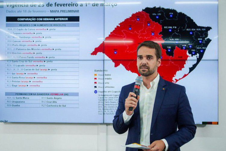 Covid-19: governador determina suspensão geral das atividades no RS (Foto: )