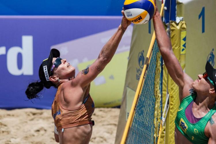 Vôlei de Praia: semifinais do circuito agitam sábado em Saquarema (Foto: )