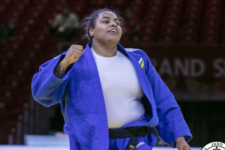 Judô: Maria Suelen fatura primeira medalha do Brasil em 2021 (Foto: )