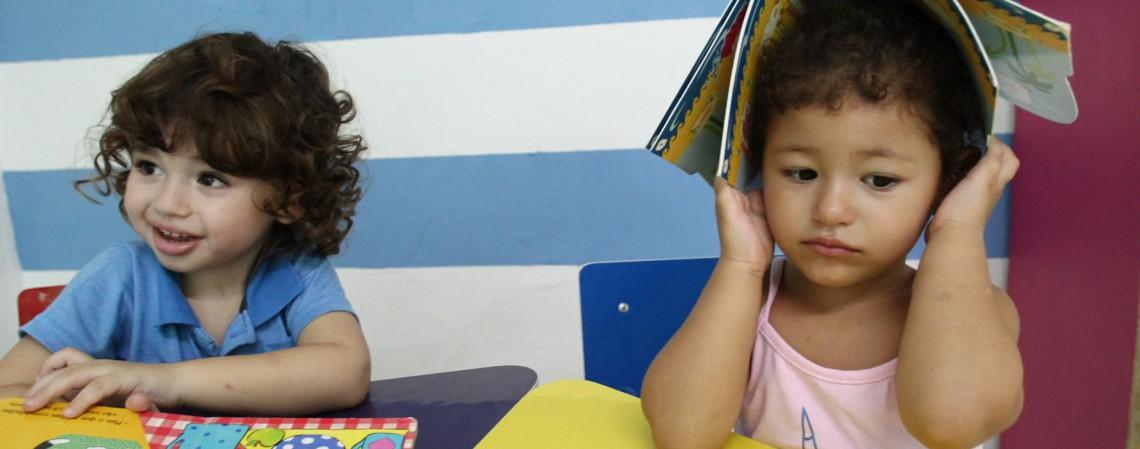 Aulas presenciais durante isolamento social. Escola de ensino infantil, Mente Criativa, Passaré (Foto: FABIO LIMA)