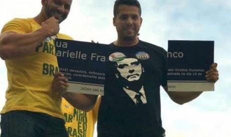Em 2018, Daniel Silveira participou de ato de campanha que quebrou placa em homenagem a Marielle.