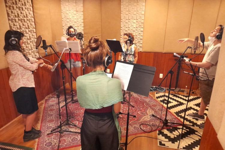 'Antonieta' é uma radionovela produzida pelo grupo de teatro Violetas (Foto: Divulgação)